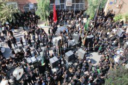 عزاداری تاسوعای حسینی در رفسنجان/ عکس