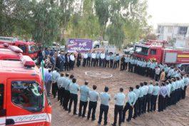 ششمین ایستگاه آتشنشانی در رفسنجان کلنگزنی شد/ عکس