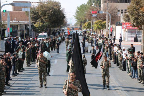 عزاداری نیروهای مسلح در رفسنجان به مناسبت ۲۸ صفر / تصاویر