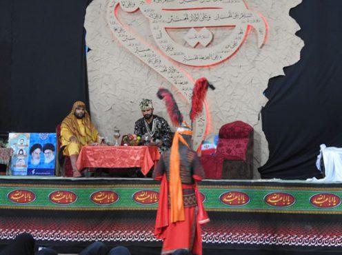بازخوانی خطبه حضرت زینب(س) در رفسنجان برگزار شد/ تصاویر