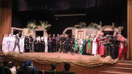 """اجرای تئاتر""""خورشید کاروان """"در رفسنجان / تصاویر"""