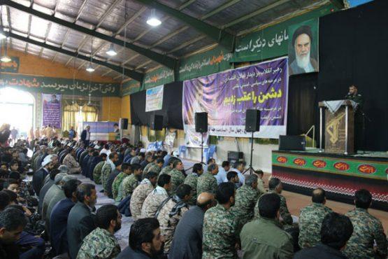 همایش شکوه اقتدار بسیجیان در رفسنجان برگزار شد/ تصاویر