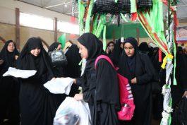 اعزام دانش آموزان دختر رفسنجان به اردوی راهیان نور/ تصاویر
