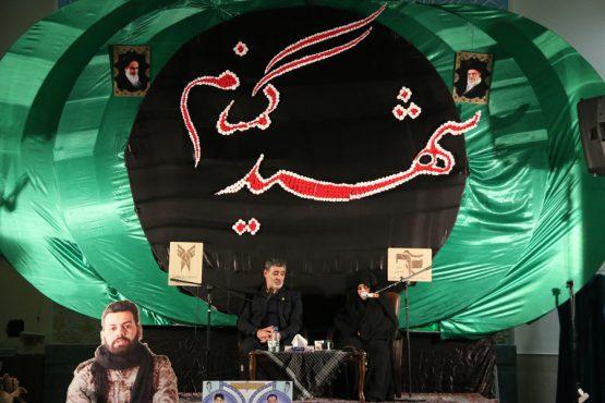 دومین سالگرد شهدای گمنام و شهدای دانشجو دانشگاه آزاد اسلامی در رفسنجان برگزار شد +تصاویر