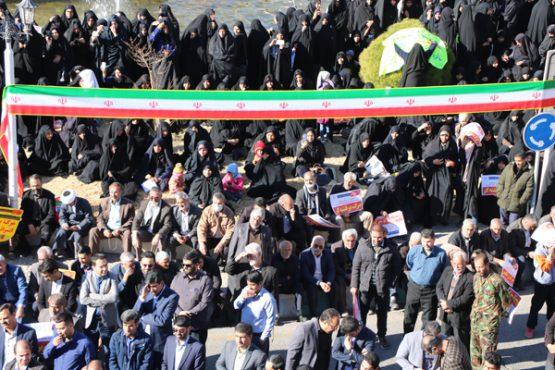 بزرگداشت سالروز قیام ملی نهم دی ماه در رفسنجان/ تصاویر