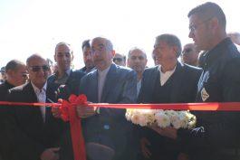 نیروگاه ۵۸ مگاواتی برق در رفسنجان با حضور وزیر نیرو افتتاح شد/ عکس