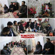 دیدار متفاوت خادمین شهدا رفسنجان با خانواده کودک اهدا عضو +عکس