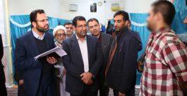 جمعیت زندان رفسنجان ۱۲درصد کاهش یافته است