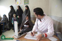 ارائه خدمات پزشکی رایگان خادمیاران جهادی امام رضا(ع) در مناطق محروم استان کرمان