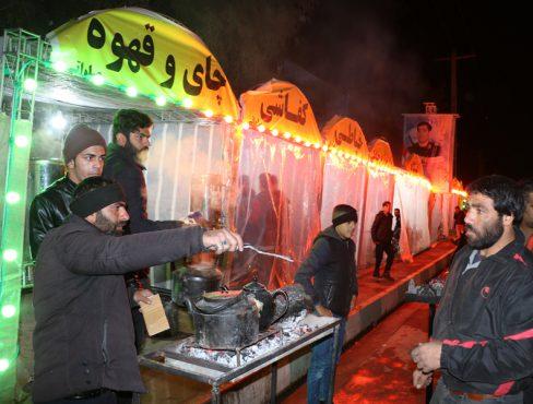 تشریح فعالیت های ایستگاه صلواتی هیئت رباب رفسنجان در ایام فاطمیه + تصاویر