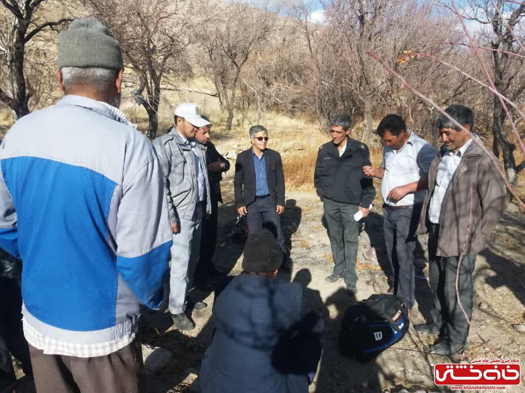 دستگیری چهار نفر حفار غیر مجاز در روستای دره کردی راویز رفسنجان