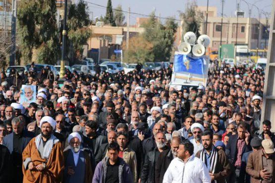 مردم رفسنجان حمایت قاطع خود را از صلابت نظام اعلام کردند/ تصاویر
