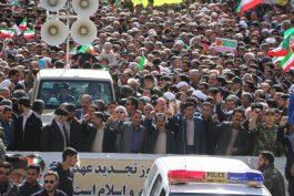 راهپیمایی یوم الله ۲۲ بهمن ۹۸ حماسه ای دیگر در تاریخ انقلابی رفسنجان/ گزارش تصویری