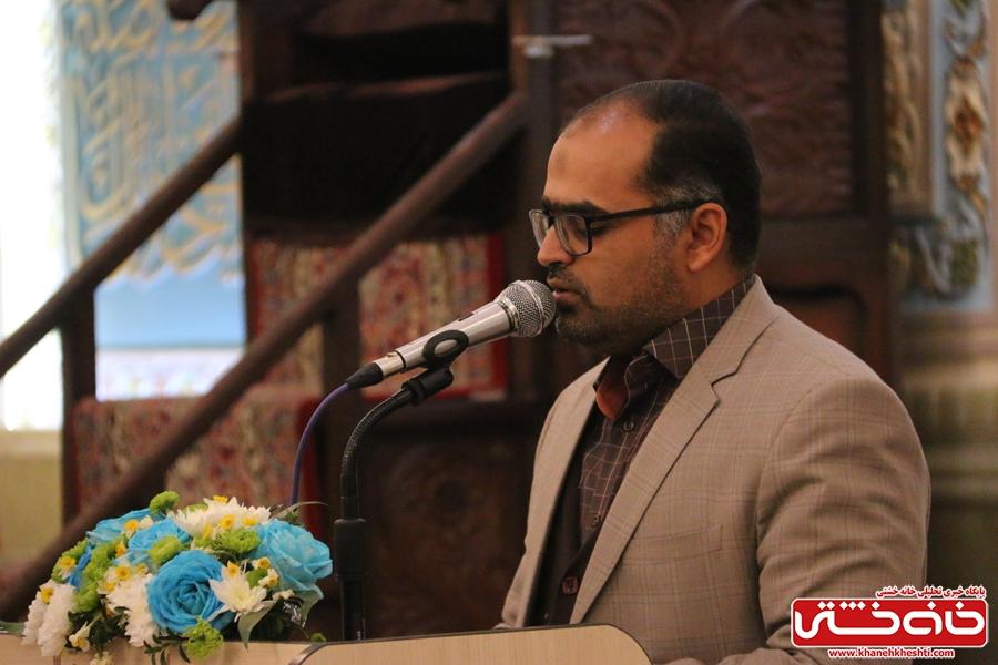 دکتر هادوی در مراسم افتتاحیه شبستان اصلی مسجد الزهرا (س) رفسنجان و جشن میلاد حضرت فاطمه(س)