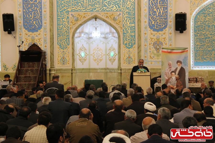 مراسم افتتاحیه شبستان اصلی مسجد الزهرا (س) رفسنجان و جشن میلاد حضرت فاطمه(س)