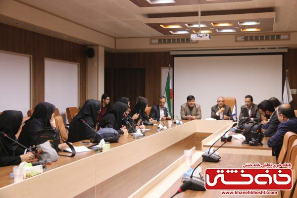 نشست خبری با رئیس دانشگاه علوم پزشکی رفسنجان با موضوع کرونا ویروس