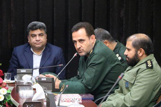 مسئول جدید بسیج ادارات سپاه رفسنجان معرفی شد/ عکس