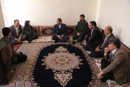 دیدارمسئولین رفسنجان با خانواده های معظم شهدا/ تصاویر