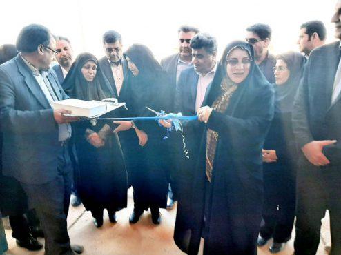 سالن ورزشی سردار سپهبد شهید سلیمانی در روستای لاهیجان رفسنجان افتتاح شد