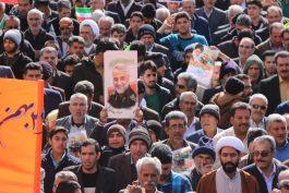 حرکت لشکر سلیمانی در رفسنجان / عکس