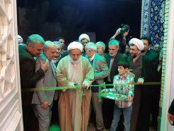 شبستان اصلی مسجد الزهرا (س) رفسنجان در شب میلاد حضرت فاطمه(س) افتتاح شد + تصاویر