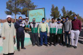 خادمین رفسنجانی، جهاد گونه پای کار ایستاده اند/ تصاویر