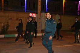 آغاز طرح ضربتی نیروی انتظامی رفسنجان برای پیشگیری از شیوع کرونا / تصاویر