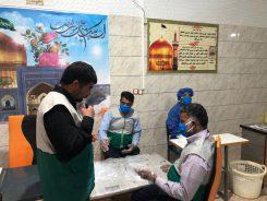 راه اندازی کارگاه تولید دستکش یکبار مصرف به همت خادمیاران رضوی جوادیه الهیه رفسنجان