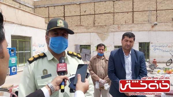 کشف مخزن ۲ هزار و ۲۰۰ لیتری سوخت قاچاق و دستگیری باند سرقت در رفسنجان + تصاویر