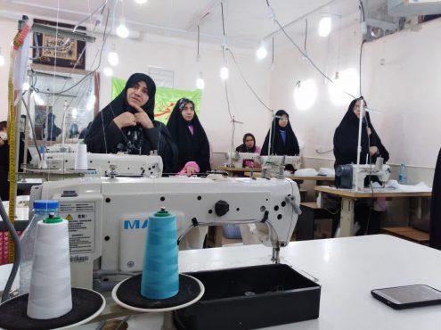 تولید و توزیع ۷۷۰ هزار ماسک در ۵۰ کارگاه در رفسنجان