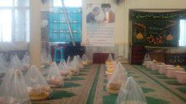 کمک مومنانه؛ توزیع ۴۰ بسته مواد غذایی بین نیازمندان توسط پایگاه بسیج مکتب الجواد مسجد سجادیه رفسنجان