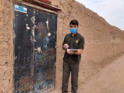 توزیع پنج هزار بسته بهداشتی در بین مهاجران افغانستانی در رفسنجان / تصاویر