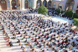 نماز عید سعید فطر در رفسنجان اقامه شد/ تصاویر
