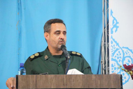 فرمانده سپاه رفسنجان منصوب شد/ تصاویر