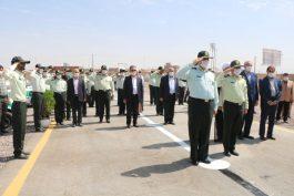 ساختمان جدید ستاد فرماندهی نیروی انتظامی در رفسنجان افتتاح شد + تصاویر