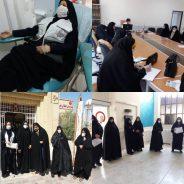 اهدای ۱۲ هزار سی سی خون توسط خواهران بسیجی رفسنجان