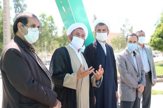بازدید نماینده مردم رفسنجان با هیئت رئیسه دانشگاه ولی عصر + تصاویر