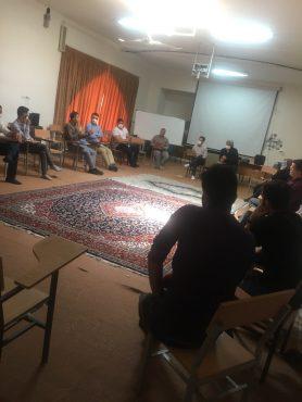 جلسه هم اندیشی «پویش ورزشی اوج» با پیشکوستان و دبیران هیئت های ورزشی رفسنجان برگزار شد
