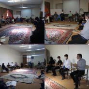 جلسه هم اندیشی پویش ورزشی اوج با اعضای کمیته کریکت هیئت انجمن های ورزشی رفسنجان