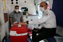 چهارمین اهدای قلب هوایی در کشور، در بیمارستان رفسنجان انجام شد + تصاویر