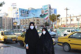 عکس یادگاری با حاج قاسم در میدان سردار رفسنجان/ تصاویر