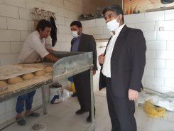 بازرسی از واحدهای نانوایی در سطح روستاها و توابع رفسنجان/تصاویر