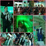گردهمایی رزمندگان دفاع مقدس روستای داوران رفسنجان + تصاویر
