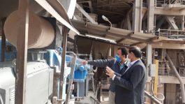 فرماندار رفسنجان از شرکت سیمان ماهان کرمان بازدید کرد + عکس