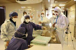 ۲۲ بیمار بدحال کرونایی در بخش ایسییو بستری هستند/بیمارستان دیگر گنجایش افزایش تخت را ندارد