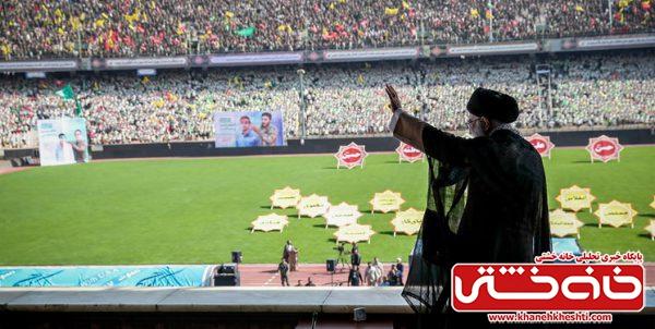 پیام رهبر انقلاب | بسیج، ثروت بزرگ و ذخیره خداداد ملت ایران است