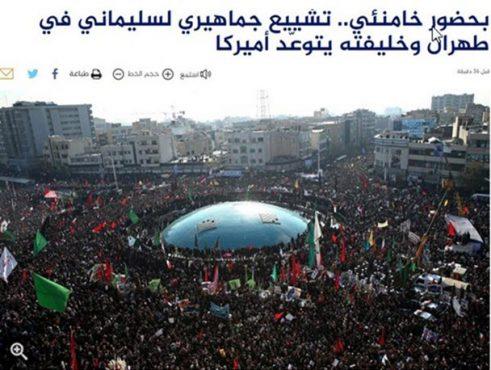 حاج قاسم نسل جدید جبهه مقاومت را پرورش داد/ وقتی تشییع شهید سلیمانی استانداردهای رسانه ای را تغییر داد