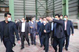 سفر استاندار کرمان به رفسنجان به روایت تصویر