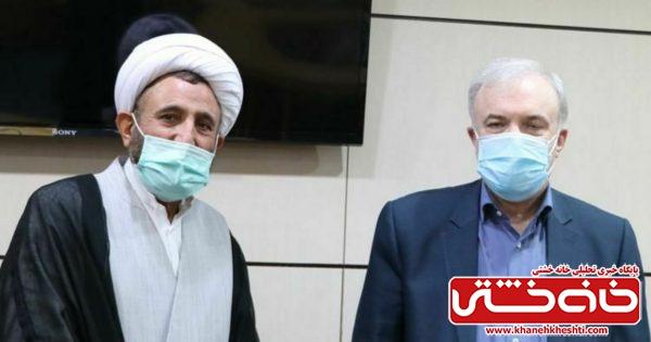 دیدار نماینده مردم رفسنجان و انار با وزیر بهداشت