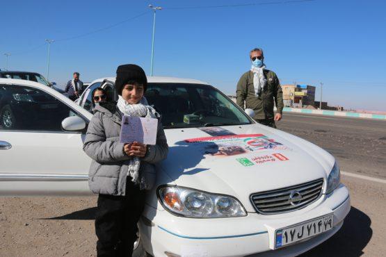 میزبانی رفسنجان از کاروان حرم تا حرم استان قزوین + تصاویر